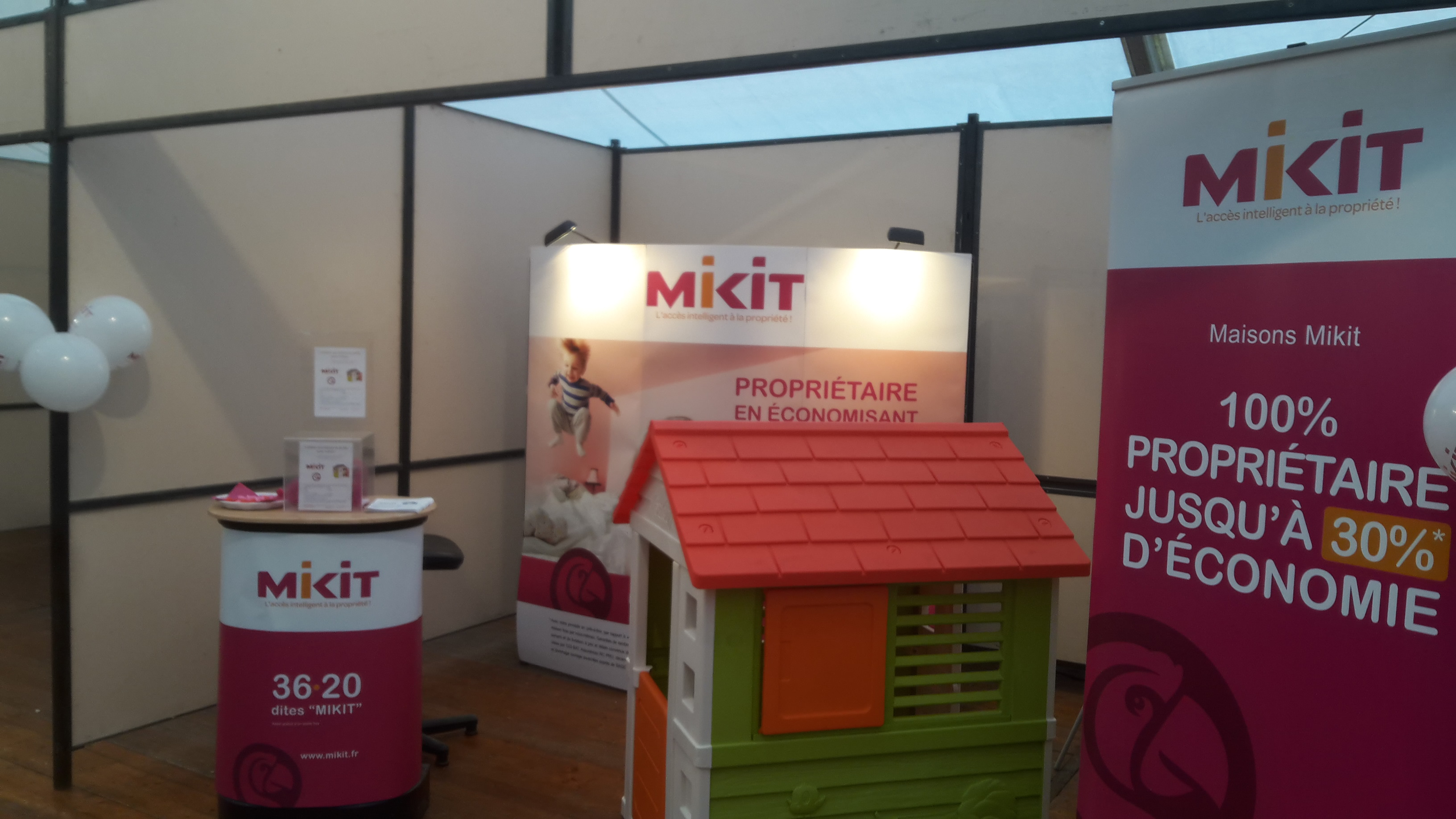 Salon de l 39 habitat mikit for Salon de l habitat laval